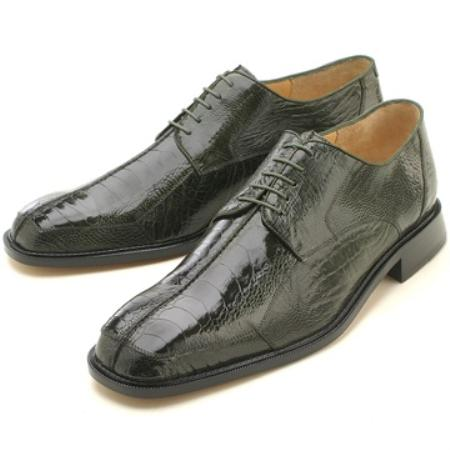 MensUSA Olive Ostrich Lizard Lace Up at Sears.com