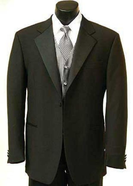 1 Button Buy Cheap Priced tuxedos for sale Satin Covered Jacket + Pants