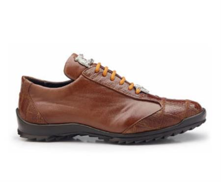 Paulo Authentic Authentic Genuine Skin Italian Brand Genuine Honey Ostrich and Soft Calf Leather Lining Shoe