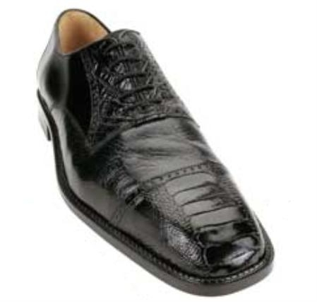 Belvedere Palla Made of Ostrich Leg, Deer Skin, and Calf in Black $349