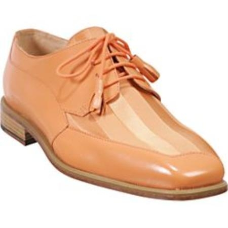 SKU# 81213 Peach has a unique twist on a traditional dress shoe Lace up tassels $99