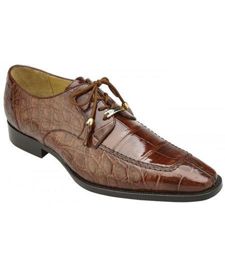 Mens Peanut Tassels Laces Genuine World Best Alligator ~ Gator Skin Cushion Insole Shoes