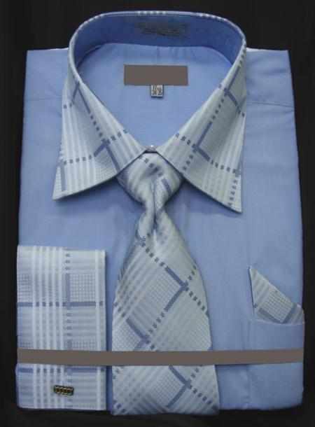 Shiny Silk Dress Shirts Barrel Cuff Shirts Cheap Cotton