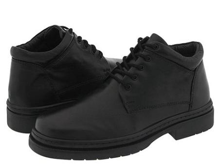 MensUSA Plain toe five eyelet demi boot in sheepskin Rubber sole at Sears.com