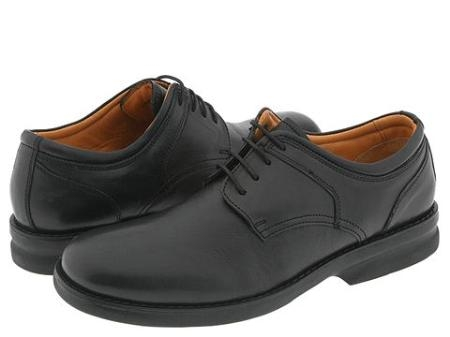 SKU# HXB713 Plain-toe four eyelet blucher with soft leather upper. $79