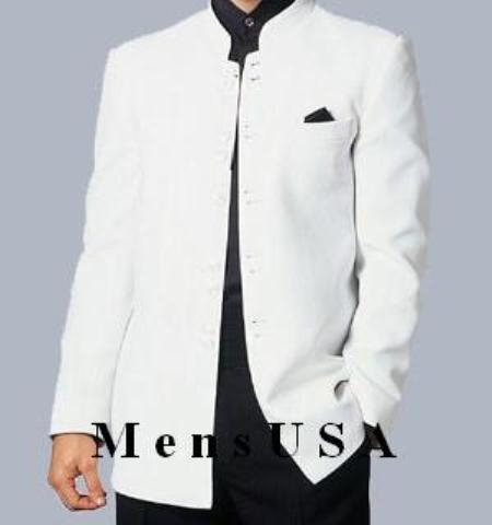 SKU# HTL4 Popular Nehru slim, straight-cut jacket Bazer in 3 colors $139
