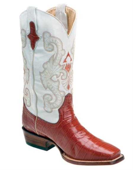 SKU#TX3937 Print Belly Alligator Peanut - D Toe $139