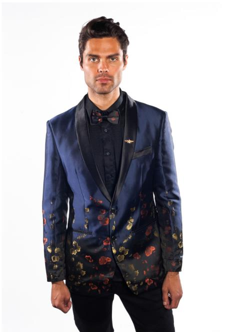 SKU#SM4345 Mens Purple Flashy Shiny Sequin Blazer ~ Sport Coat Fashionable Jacket Paisley Tuxedo