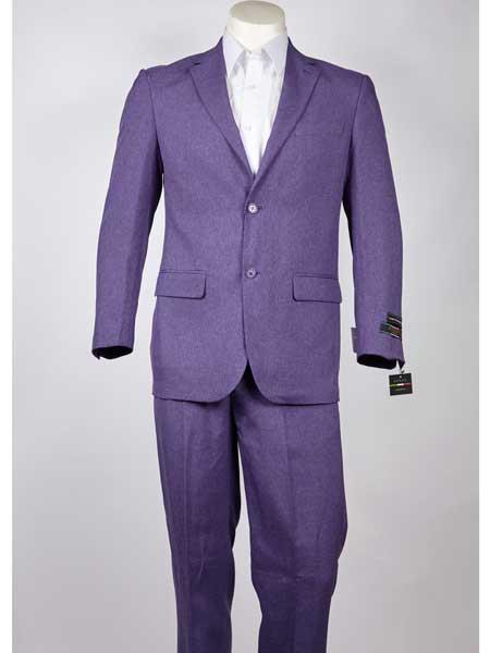 Notch Lapel Purple 2