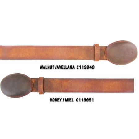 Cowhide Belt Walnut &