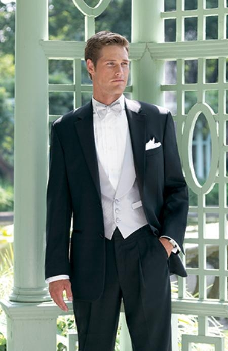 New Ralph Lauren 2 Button Notch Tuxedo with Any Size Pleated Pants $275