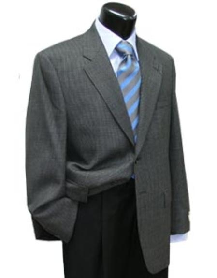 SKU#NSJ234 Cotton Summer Light Weight Grey houndstooth with blue black and wine natural stretch $185