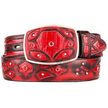 Red Original Eel Skin