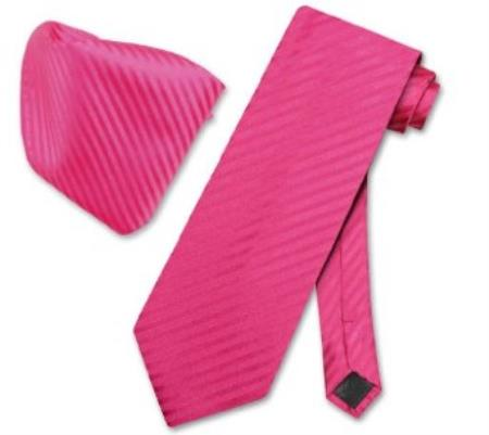 Violet Striped Necktie &