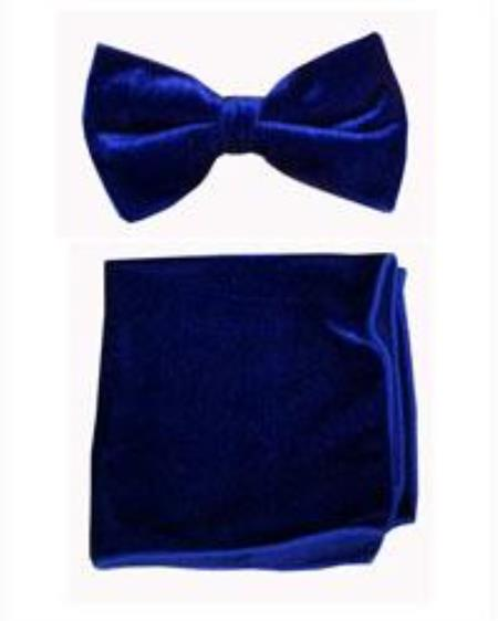 Bowtie with Hanky Royal