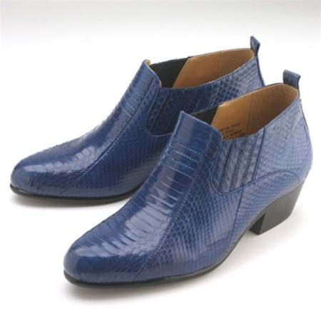 SKU#RS779 Royal Snakeskin Demi Boot $139