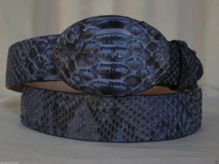 Rustic Blue Python Snake