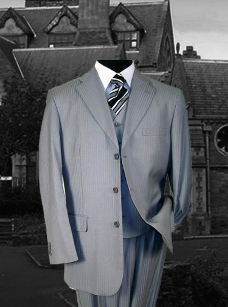 SKU#WE345 SM-08 Signature Platinum Stays Cool Tailored SILVER EXTRA FINE SUPER 150S SUIT premier quality italian fabric DESIGN WITH FRENCH CUT $179