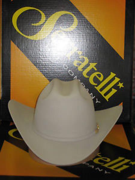 Tejana Serratelli Designer 30x San Jose Platinum 4 Brim Western Cowboy Hat
