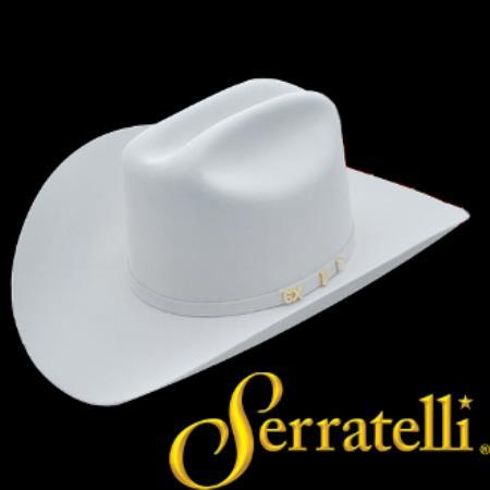81c690befd3 Serratelli Hat Company-6x Beaver Fur Felt Western Cowboy Hat ...