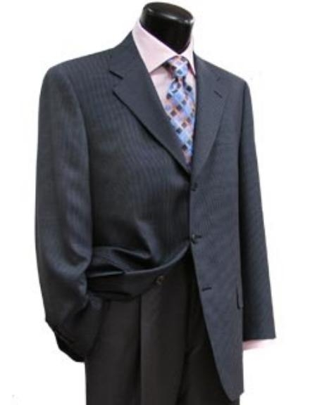 SKU# TWJ843 Shark Skin 3 Button Super 120s Wool 3 Buttons $225