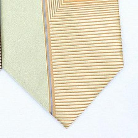 SKU#EL511 Silk Gold/yellow/blue Woven Necktie $39