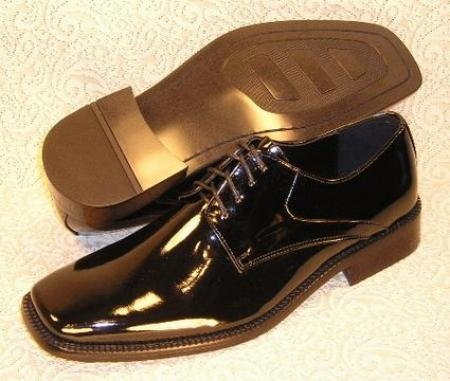 SKU# VRK518 Z30028 Simple and nice Tuxedo Shoes $75