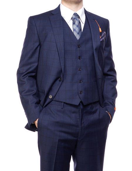 Single breasted blue blazer 35170