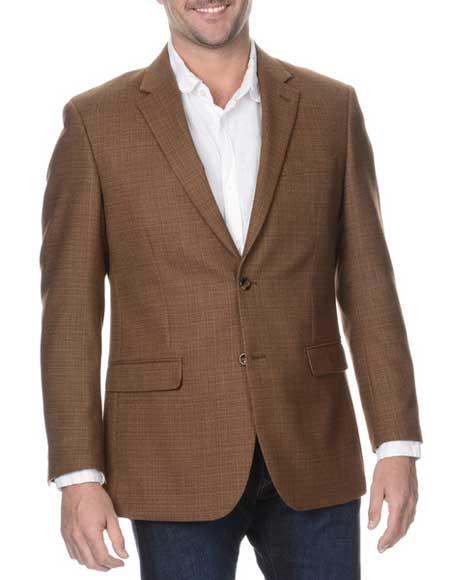 Mens Coffee Cheap Priced Designer Fashion Dress Casual Blazer On Sale Rich Wool Blazer