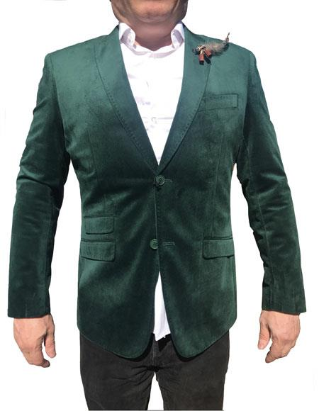 Men's Velvet Blazer ~ Sportcoat Men's blazer Jacket