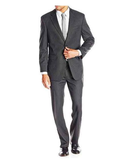 Buy GD1134 Men's Bond Spectre Single Breasted Grey Striped Notch Lapel Fully Lined Suit