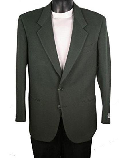 Men's Cheap Priced Designer Fashion Dress Casual Blazer For Men On Sale 2 Button Olive Blazer