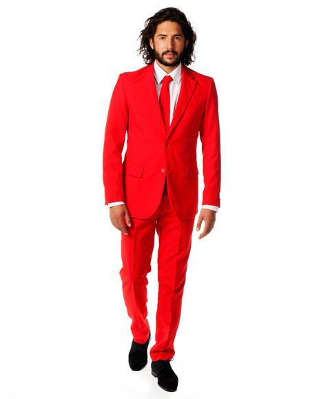 Breasted Red Prom Velvet