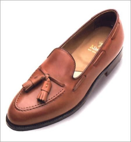 SKU# RIT993 Single Oak Leather Outsoles. Aberdeen Last  662  Burnished Tan  (ALDEN-05-662)