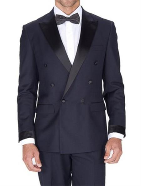 Fit Navy Blue Double