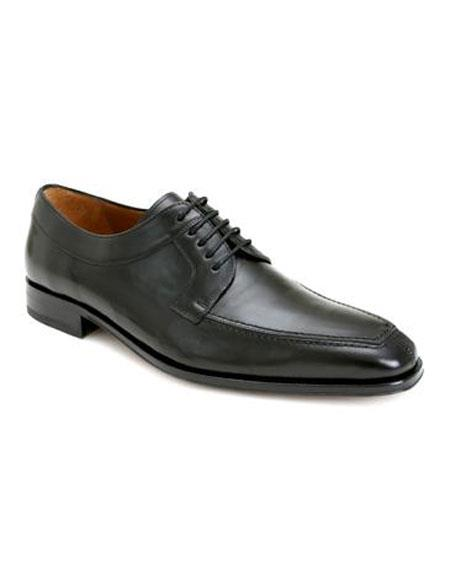 Buy AP479 Mens Black Italian Calfskin Lace Split Toe Oxford Leather Shoes Authentic Mezlan Brand