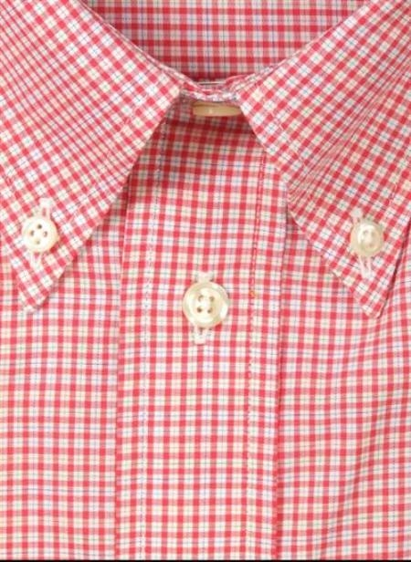 Gitman Sport Cotton Gingham Plaid red On Sale: $105