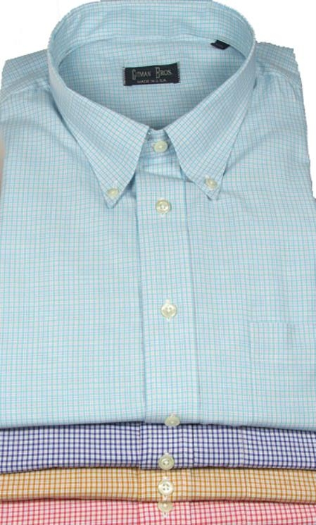 Gitman Sport Cotton Gingham Plaid Orig: $120.00 On Sale: $105