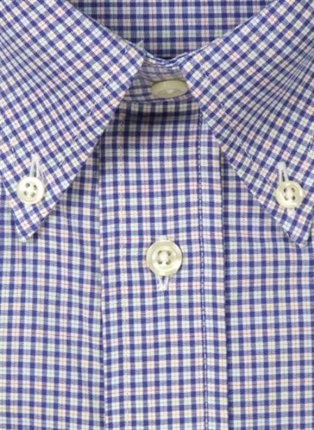 Gitman Sport Cotton Gingham Plaid blue On Sale: $105