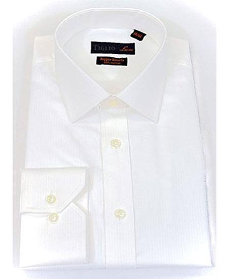 Sku sm1589 tiglio italian men 39 s cotton semi spread collar for Semi spread collar shirt