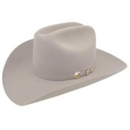 SKU#MGR7721 Stetson 10X Felt Hat Mist Grey
