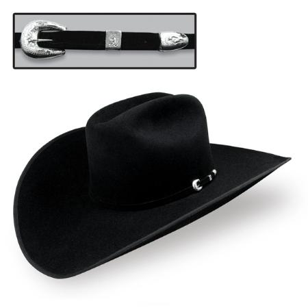 SKU#BAP8923 Stetson 4X Felt Hat Black