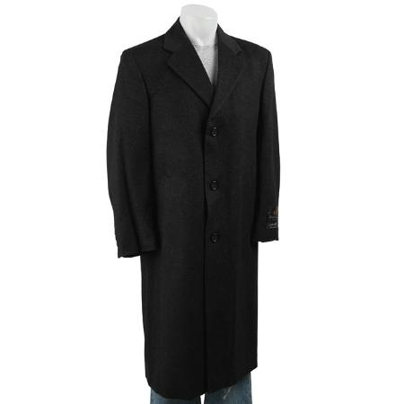 MensUSA Stylish Classic single breasted overcoat fashion business in 3 Colors at Sears.com