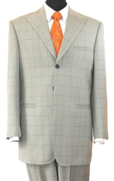 SKU#FB294 Super 140s, 100% Wool Fashion Suits