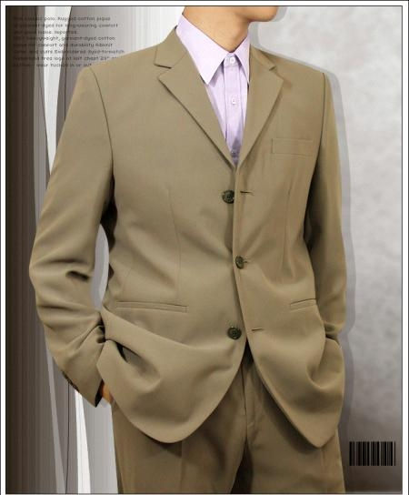 SKU# 74 Tan Super 120s Wool $149