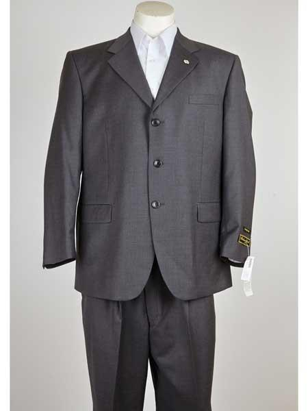 Notch Lapel Three Button