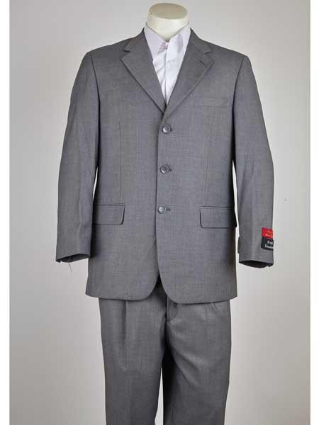 Three Button Notch Lapel