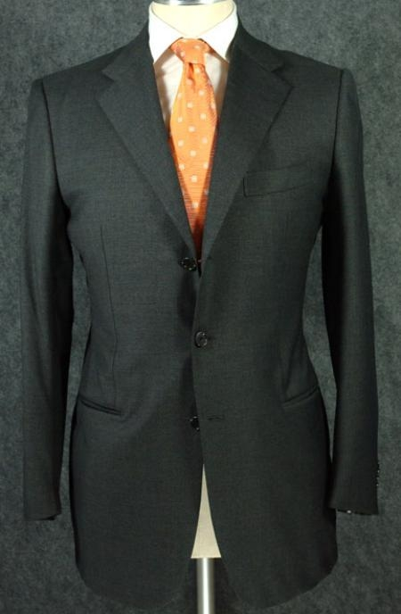 Buy 77172 Dark Olive Green Super 150's Wool premier quality italian fabric Design