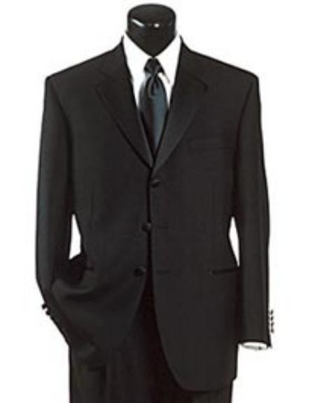 SKU# VT34 Three Button Luxuary premier quality italian fabric Design Super 150s All season Wool Suit+Shirt+LongTie $235