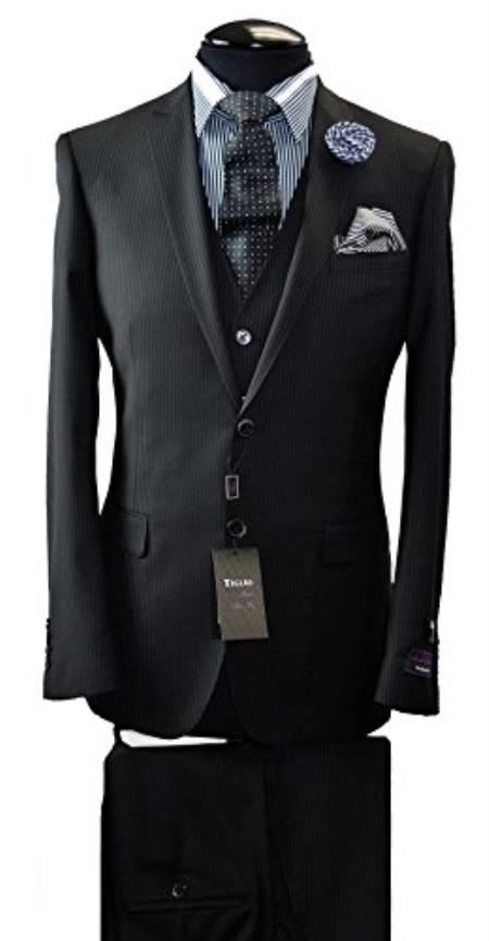 Tiglio Italian Slim Fit Suit & Vest